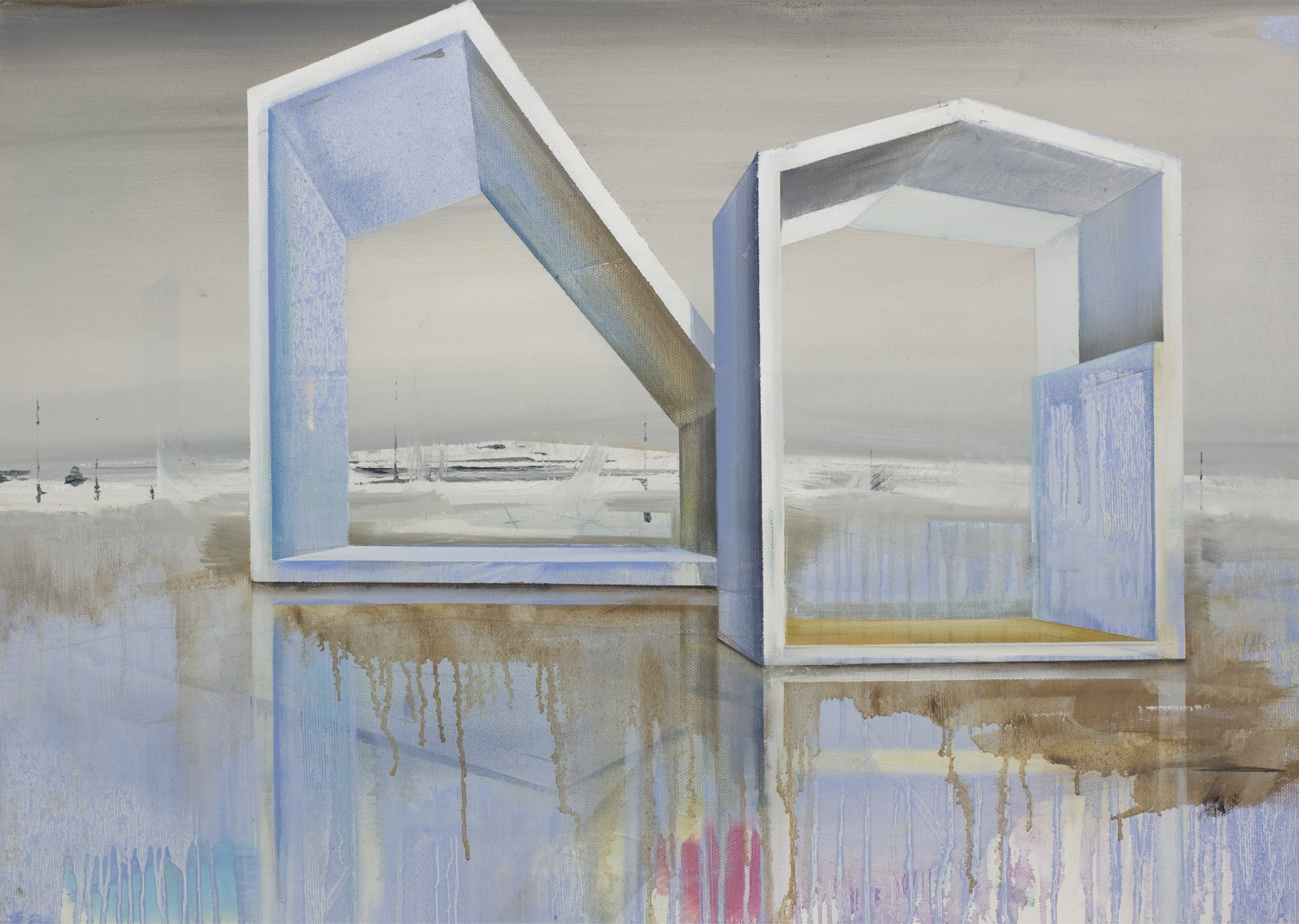 Two - Emanuel Schulze - Contemporary painting