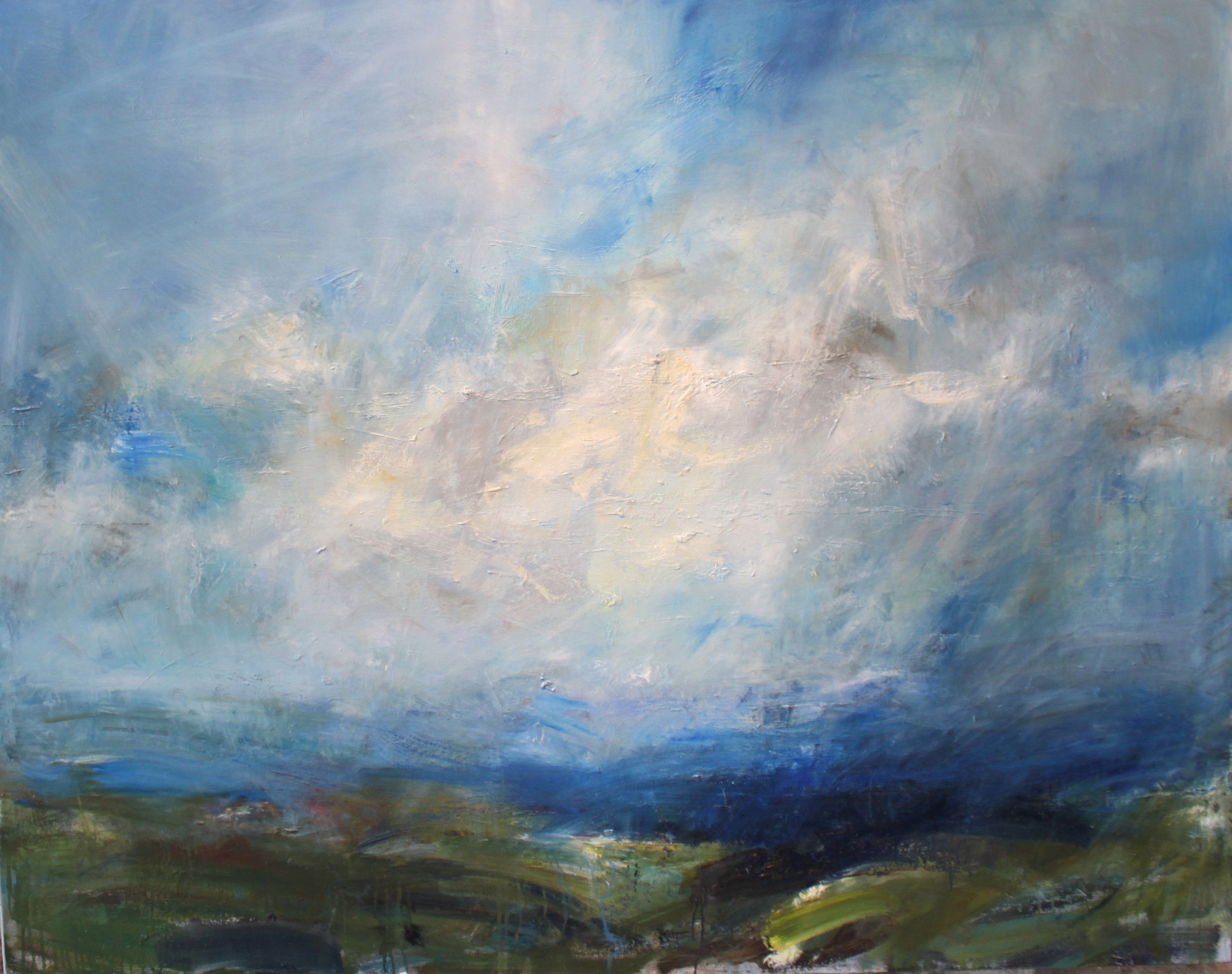 Under a Highland Sky,Jonathan Shearer,Peinture contemporaine