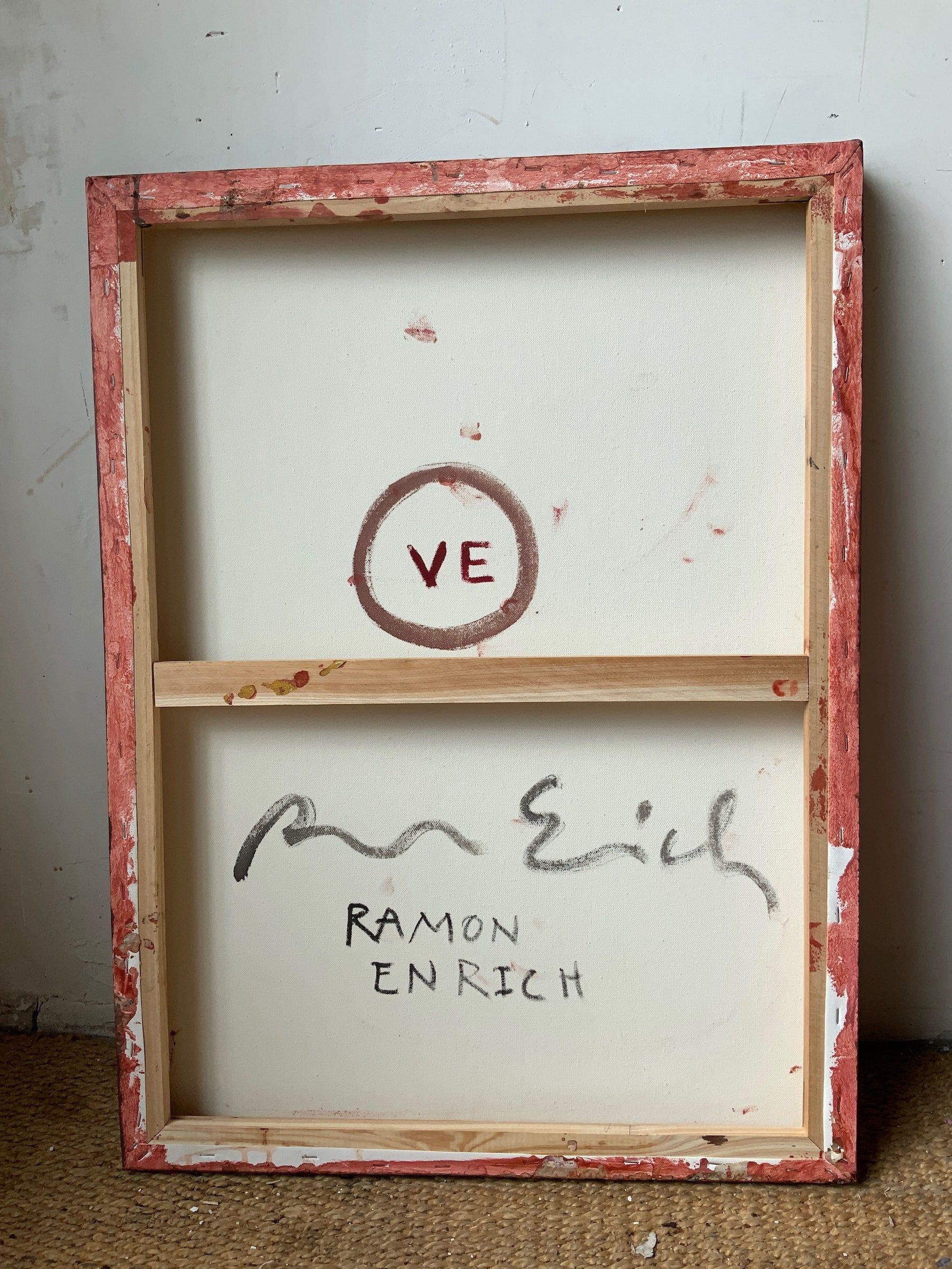 VE,Ramon Enrich,Peinture contemporaine, detail 2