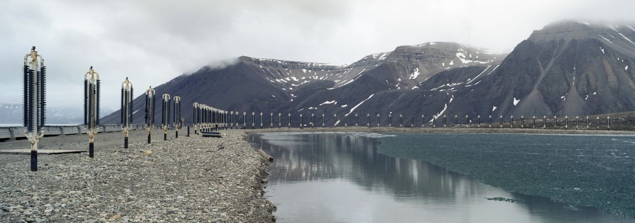 Water Reserve, Spitsbergen, Pyramid,Christian Houge,Photography