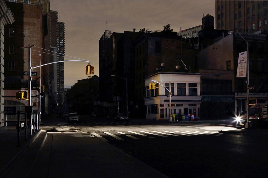 West Broadway,Christophe Jacrot,Photographie contemporaine