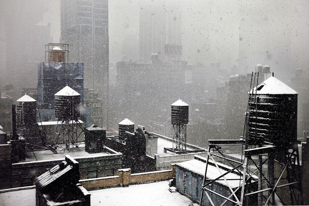 Photographie contemporaine - Christophe Jacrot - Winter at my window